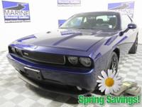 New Price! Clean CARFAX. Blue 2014 Dodge Challenger R/T