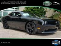 2014 Dodge Challenger R/T Black CARFAX One-Owner. 20 x