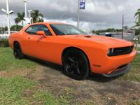 Options:  2014 Dodge Challenger R/T|Header Orange