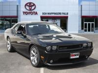 Black Clearcoat 2014 Dodge Challenger R/T RWD Tremec