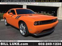 Options:  2014 Dodge Challenger R/T|Orange|Cloth
