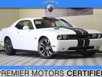 Options:  2014 Dodge Challenger Srt8 White 6.4L