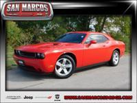 Options:  2014 Dodge Challenger Sxt|Red/|V6 3.6 L