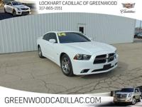 CARFAX One-Owner. Bright White Clearcoat 2014 Dodge