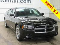 CARFAX One-Owner. Black 2014 Dodge Charger R/T RWD