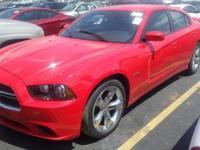 Exterior Color: red, Body: Sedan 4dr Car, Engine: 5.7L