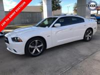 White 2014 Dodge Charger R/T RWD 5-Speed Automatic HEMI