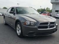 2014 Dodge Charger SE has black cloth