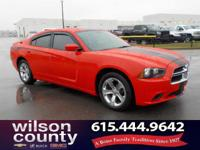 2014 Dodge Charger SE 3.6L V6 24V VVT Red CARFAX