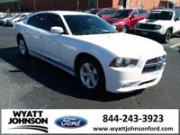 Bright White 2014 Dodge Charger SE RWD Automatic 3.6L