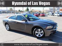 **ACCIDENT FREE CARFAX**. Charger SE, 4D Sedan, and