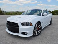 This low mileage, one owner Dodge Charger SRT8 Sedan