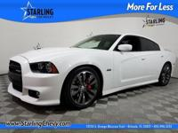 Charger SRT8, 4D Sedan, SRT HEMI 6.4L V8 MDS, 5-Speed