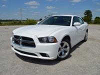 This sporty, low mileage Dodge Charger SXT Sedan comes