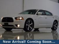 2014 Dodge Charger SXT in Ivory Tri-Coat Pearl, This
