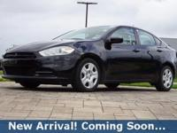 2014 Dodge Dart SE/AERO in Pitch Black Clearcoat, This