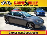 Clean CARFAX. Dart SXT, 4D Sedan, 2.4L I4 MultiAir,