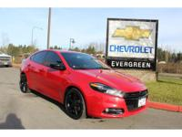 Options:  2014 Dodge Dart Sxt|One Owner And Accident