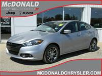 Options:  2014 Dodge Dart Sxt Sedan|Miles: 43927Color: