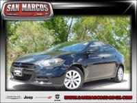 Options:  2014 Dodge Dart Sxt|Black/|V4 2.4 L