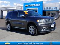 Take command of the road with this 2014 Dodge Durango.
