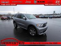 AWD. Durango Dodge 3.6L V6 Flex Fuel 24V VVT 17/24mpg