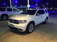 We are excited to offer this 2014 Dodge Durango. This