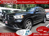 This Incredible Black 2014 Dodge Durango AWD Limited