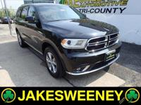 Our One Owner 2014 Dodge Durango Limited AWD shown in