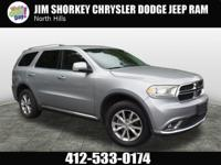 Recent Arrival! 2014 Dodge Durango Limited Certified.