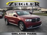 Options:  2014 Dodge Durango Limited|Flex Fuel! Don't