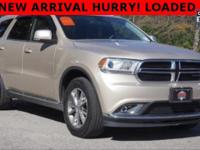 Options:  2014 Dodge Durango Limited|Gold|Carfax