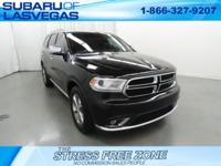 Clean CARFAX.   Black 2014 Dodge Durango Limited RWD