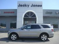 2014 Dodge Durango SXT in Silver, *One Owner*, *White