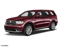 This 2014 Dodge Durango SXT features dual climate
