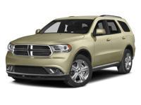 Options:  2014 Dodge Durango Sxt|/|V6 3.6 L