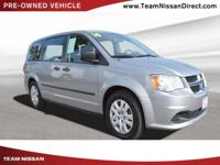 CARFAX One-Owner. Clean CARFAX. Gray 2014 Dodge Grand