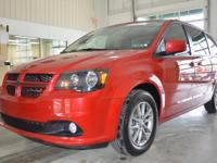 Exterior Color: red, Body: Mini-Van, Engine: V6 3.60L,