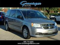 WOW!!! 2014 Silver Dodge Grand Caravan with ONLY 48k