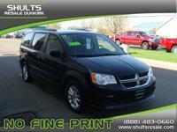 Exterior Color: black, Body: SXT 4dr Mini-Van, Engine: