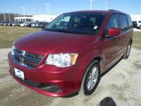 Exterior Color: red, Body: Minivan, Engine: 3.6L V6 24V