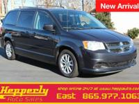 Clean CARFAX. This 2014 Dodge Grand Caravan SXT in