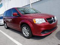 Clean CARFAX. Deep Cherry Red Crystal 2014 Dodge Grand