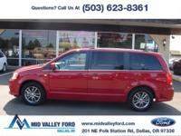 ONE OWNER 2014 DODGE GRAND CARAVAN SXT 30TH ANNIVERSARY