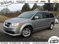 Exterior Color: light gray, Body: Minivan, Engine: 3.6L