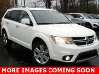 2014 Dodge Journey Limited WhiteClean CARFAX  Options: