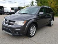 Options:  2014 Dodge Journey Limited|Black|New Price!