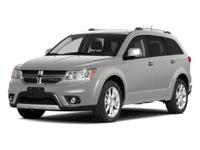 Dodge Journey R/T 2014 Certified. CARFAX One-Owner.