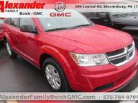 Red 2014 Dodge Journey SE AWD 6-Speed Automatic 3.6L V6