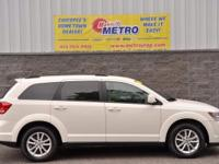 2014 Dodge Journey SXT  in White, Bluetooth for Phone
